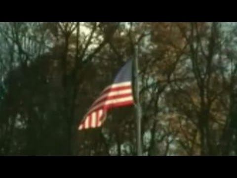 Massachusetts college removes flag after students burn it