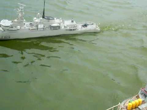 HMS AMAZON (TYPE 21) RC MODEL SHIP BOAT