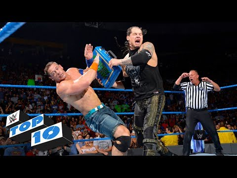 Top 10 SmackDown LIVE moments: WWE Top 10, August 15, 2017