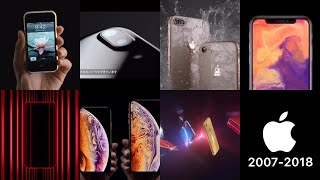Apple iPhone Ad movie  iPhone2G〜iPhone7,8,X,XS,XR  (2007-2018) thumbnail