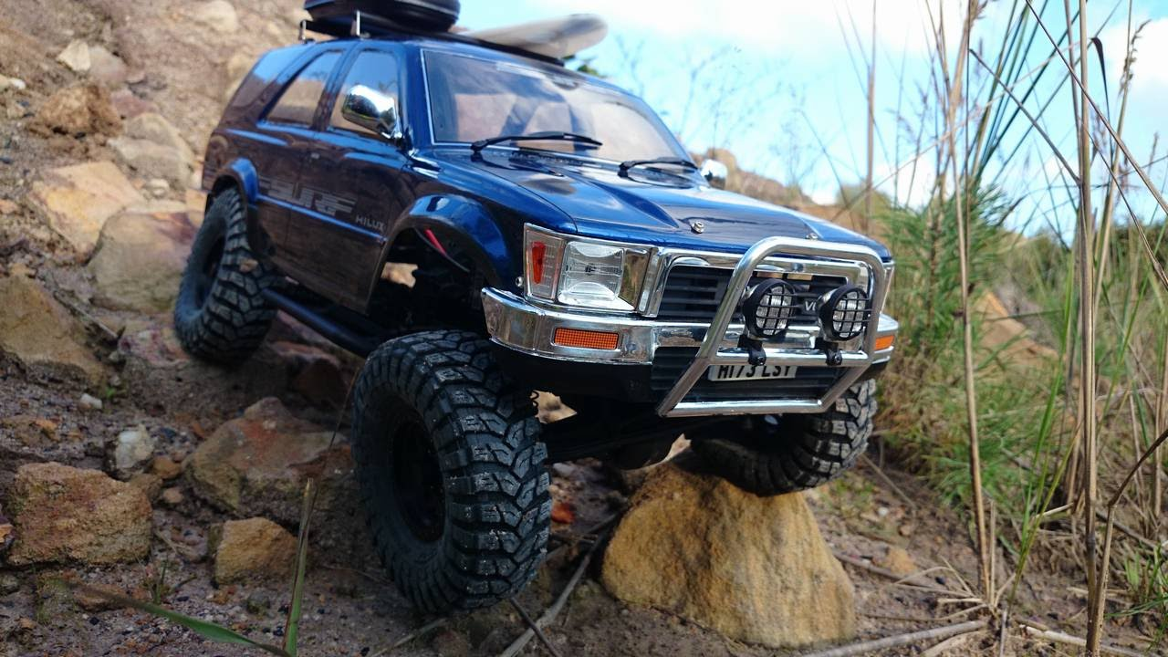 Rc 4runner Body >> RC Scale AXIAL SCX10 Toyota 4Runner Tamiya CC01 Pajero 3WD - YouTube