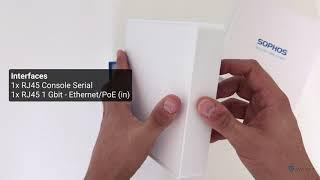 Sophos APX 320 - Unboxing (English)