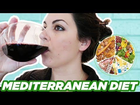 7 Days Of The Mediterranean Diet