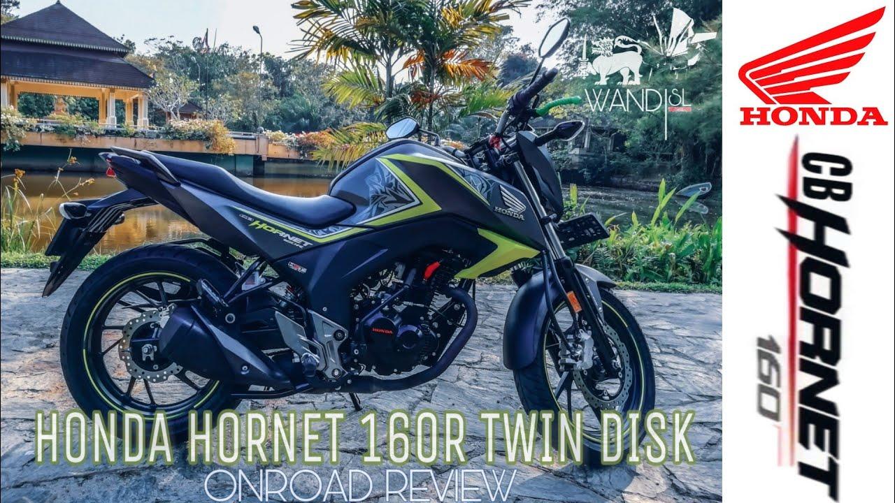 Honda CB Hornet 160R Twin Disk Review   SRI LANKA