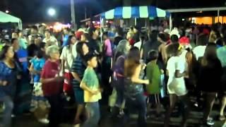 Seminole Nation Days 2014 Kaden Tiger Leads Stomp Dance