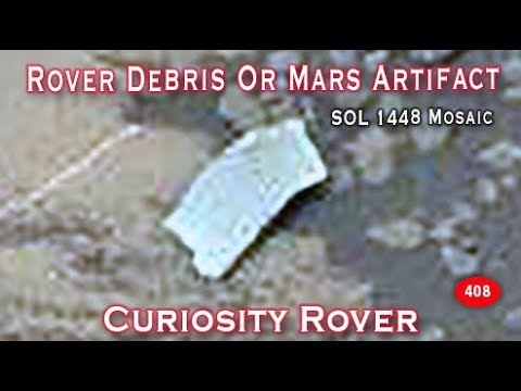 Curiosity Rover Debris On Mars or Martian Artifact In NASA Image