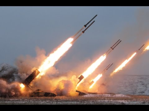 Russian Military puts a SHOW OF FORCE with Missile live fire exercise