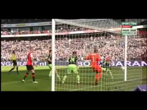 Feyenoord Vs Ajax  2 - 2  All Goals & Highlights - YouTube