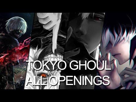 All Tokyo Ghoul openings full (1-4)