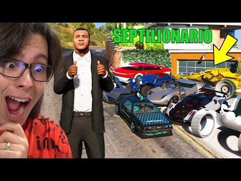 COLECIONANDO CARROS SEPTILIONARIOS NO GTA 5