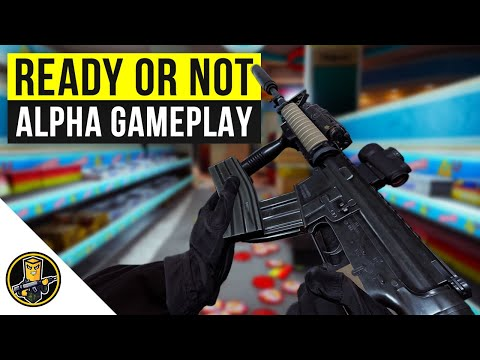 Ready or Not - New Alpha Gameplay! (Tactical FPS Swat Game 2020)