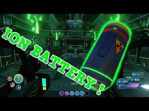 HOW TO GET THE ION BATTERY BLUEPRINT | SUBNAUTICA