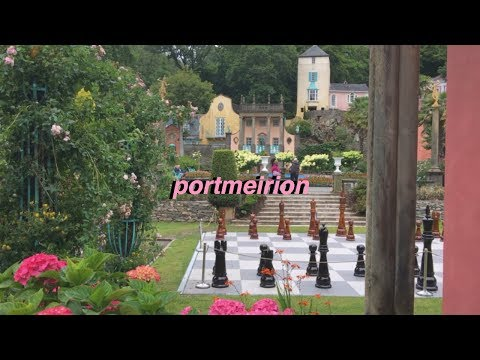 PORTMEIRION, North Wales | travel vlog