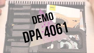 DPA 4061 with Taylor GS Mini - french review - English subtitle