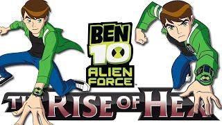 Ben 10: Alien Force The Rise of Hex - X360 XBLA Gameplay