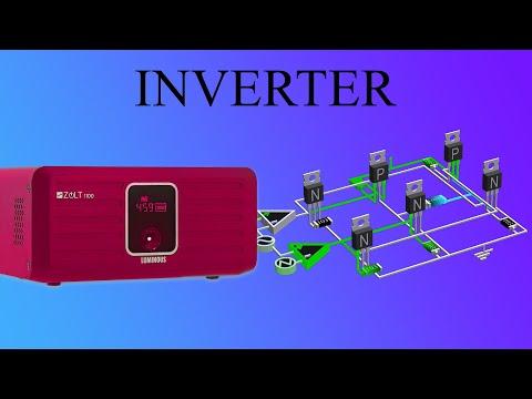 How does an Inverter work?   Sine wave Inverter