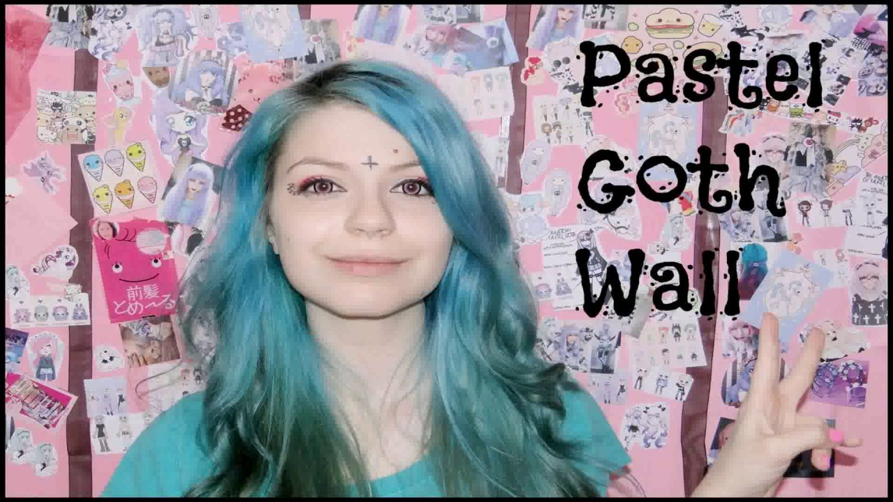 Diy pastel goth room decor youtube for Pastel diy room decor