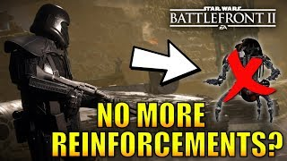 Where Are The Reinforcements In Battlefront 2? - Star Wars Battlefront 2