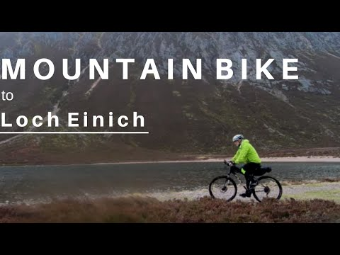 Mountain Bike to Loch Einich