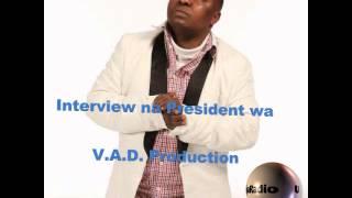 Interview na President wa V.A.D. Film Production Safari Lukeka part 2