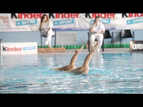 """Nuoto Sincronizzato """"Tutti In Piscina"""" Trofeo Kinder+Sport"""