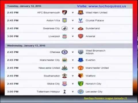 Chelsea FC Latinoamerica: Fixture Barclays Premier League 2015-2016