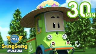 Nature Songs for Kids | Robocar POLI SongSong Museum | Robocar POLI - Nursery Rhymes
