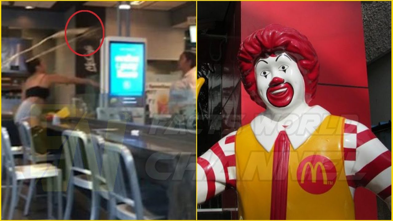 'RESPECT MY MOMMA!' Flesh Flies As McDonald's Customer Gets Hit