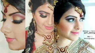 Simple Indian / Pakistani Modern Bridal Makeup | GulsArtistry