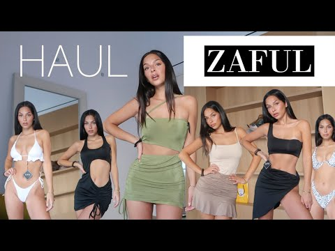 Download ZAFUL TRY ON HAUL!!  Bikinis y Ropa de Verano ⎪ZAFUL Summer Outfits