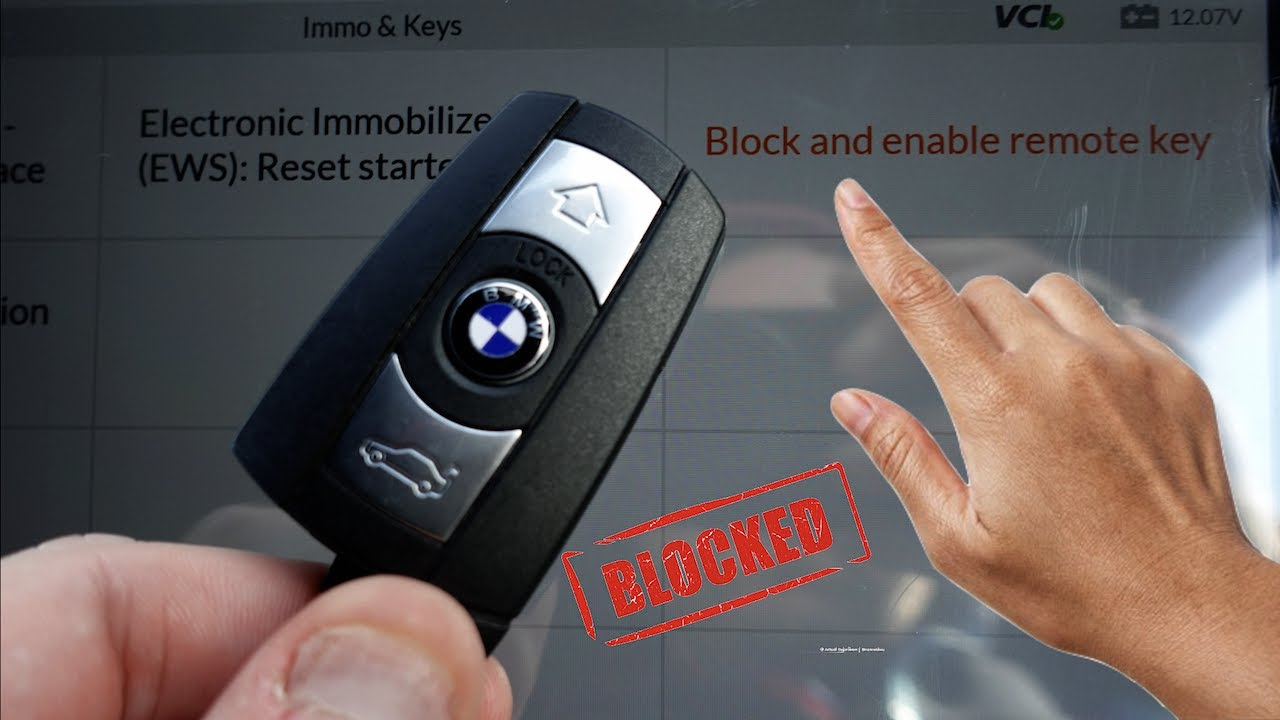 How To Block & Disable **Lost BMW Key's** On Your BMW
