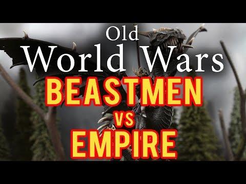 Beastmen vs Empire Warhammer Fantasy Battle Report - Old World Wars Ep 237