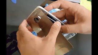 Como remover la tapa trasera de Samsung Galaxy S6