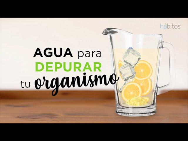 Agua para depurar tu organismo