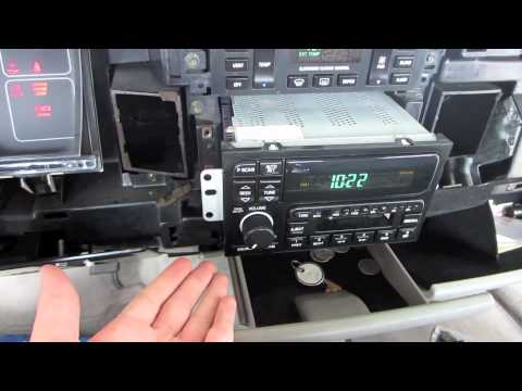 How To Remove Dash and Install OEM Radio in a 1995 Buick Roadmaster