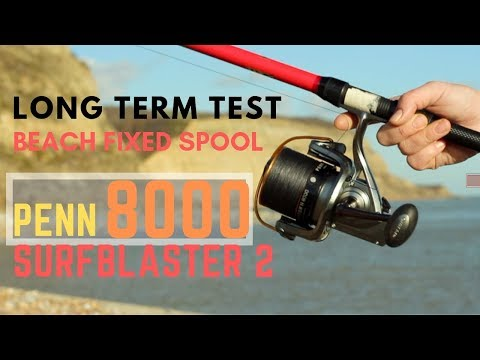 Sea Fishing Tackle Review - Penn Surfblaster 2 Beach Reel