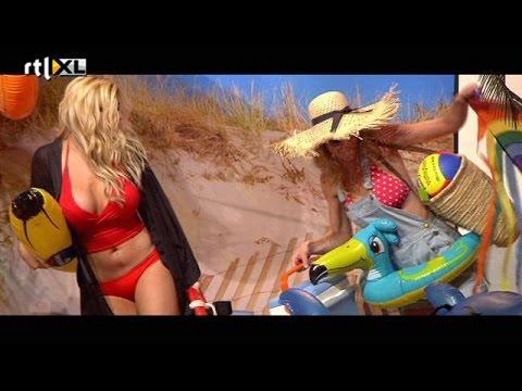 Bobbi en Nicolette op het strand - ALLES MAG OP VRIJDAG