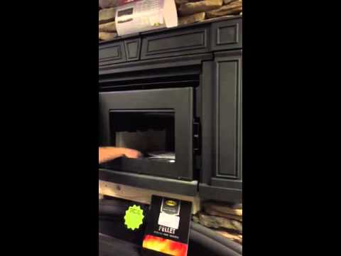 Enviro Cabello fireplace insert review - YouTube