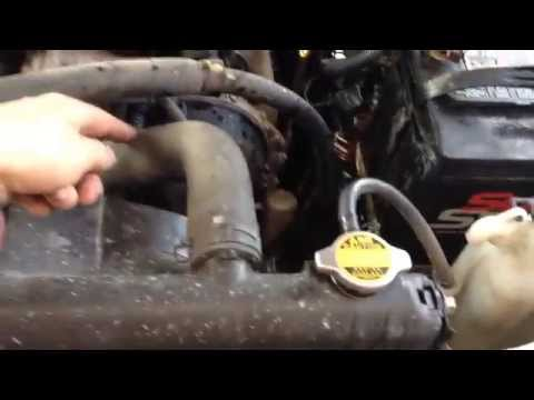 2000 Toyota tundra heater blows cold air - Heater coil flush - Water sound in dashboard