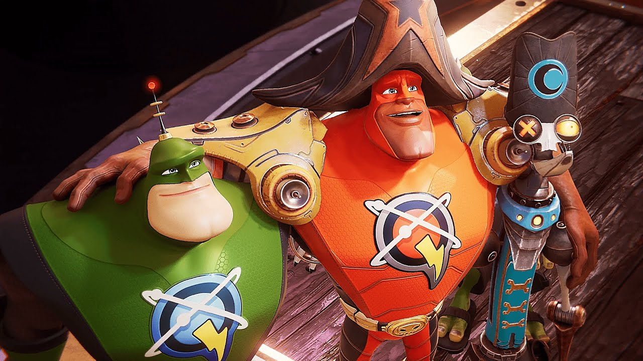 Ratchet & Clank: Rift Apart - All Characters Meeting Themselves in Another Dimension