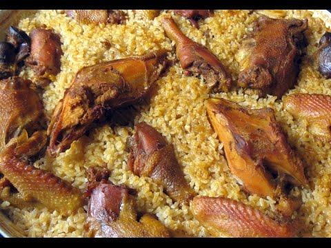 Pule me oriz ne tave; instrukcione hap-pas-hapi (Albanian chicken and rice recipe)