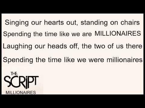 The Script - Millionaires lyrics mp3