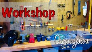 Cleaning 🧽 Motivation | How I Organized My Husband's Workshop 🧰