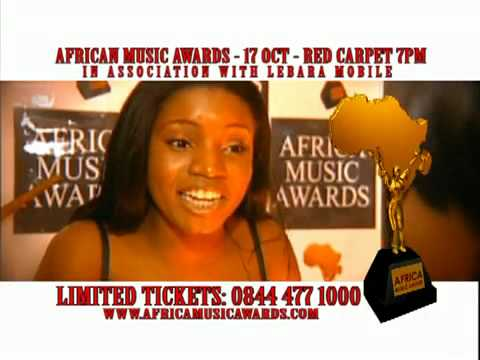 Afrika Music Awards 17 Oct RED CARPET UK call 0844 477 1000 for TICKETS