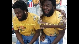 See Actor Aremu Afolayan Crying like a baby As His Friends Family Surprise Him On His Birthday