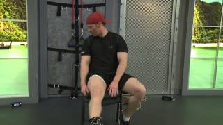 Knee Workout for Rehabilitation and Strengthening Muscles for Running