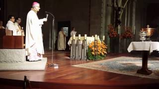 Vetlla Pasqual a la Catedral de Santa Maria d'Urgell