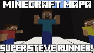Minecraft Mapa SUPER STEVE RUNNER!