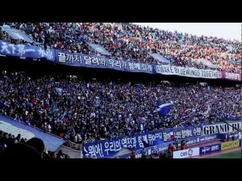 Fans of SUWON Samsung 1-0 FC SEOUL 수원삼성 블루윙즈