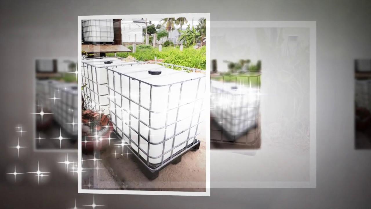 Bồn nhựa cũ 1000 lít có khung thép giá rẻ - Tel/zalo 0902 543 787 - YouTube